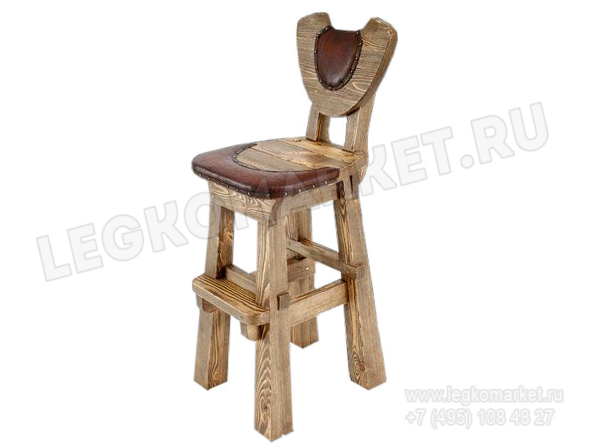 Барный стул под старину своими руками