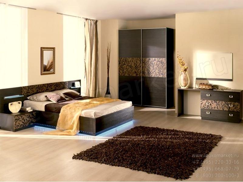 Модульная мебель для спальни Николь