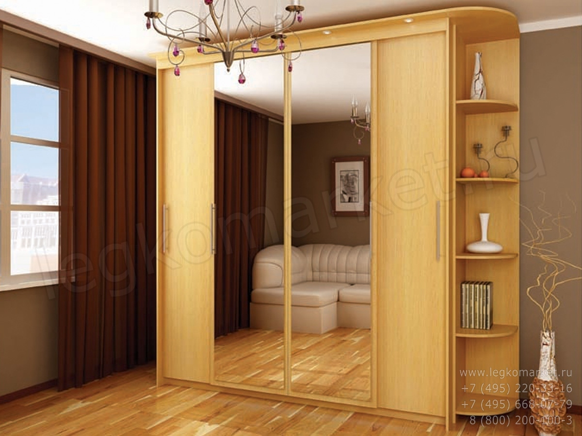 Шкаф-купе-020 - производство мебели в орше мартим.