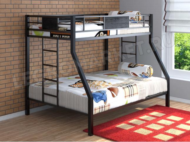 Двухъярусные кровати для детей недорогие фото